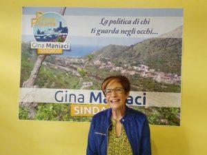 GINA MANIACI UFFICIALIZZA LA SUA CANDIDATURA E SI RIMETTE IN GIOCO