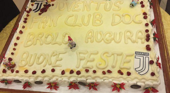 """BROLO – FESTA DI FINE ANNO DEL CLUB JUVENTINO """"ANDREA AGNELLI"""" DI BROLO"""