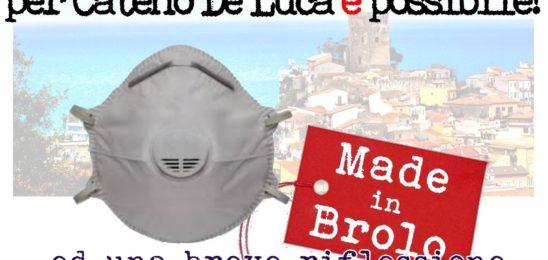 BROLO – UN'AZIENDA PRONTA A PRODURRE DA 20 A 30MILA MASCHERINE AL GIORNO